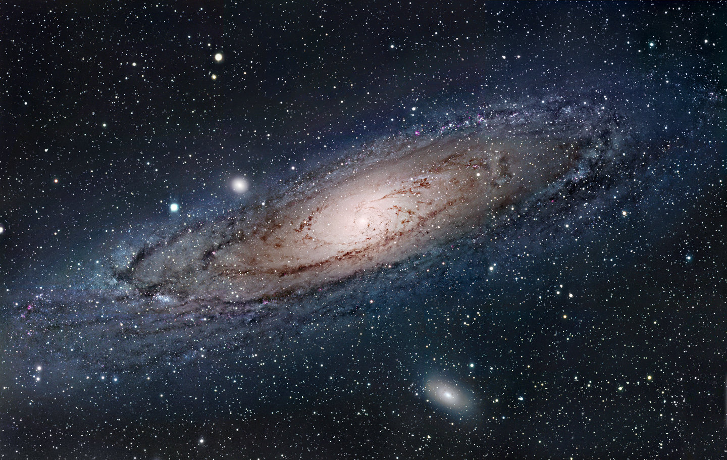 another galaxy besides the milky way - HD1440×911